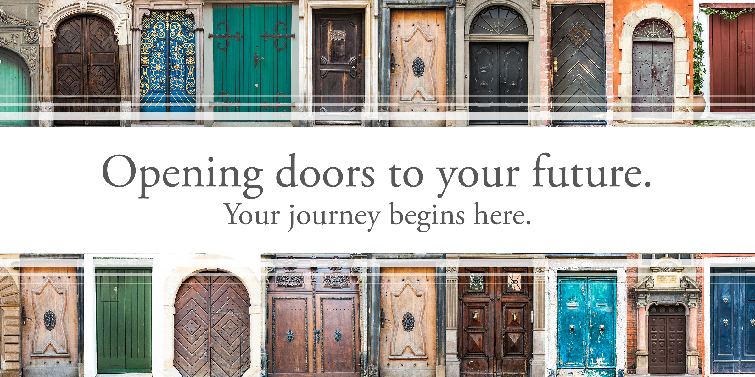 Opening doors to your future
